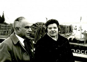 Sr. Josep Feliubadaló y su esposa Sra. Carmen Ferrer